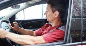 Autofahrer Handy Ablenkung