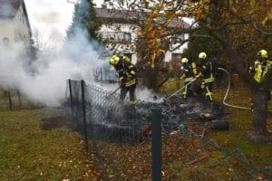 Brand Explosion Gartenhütte Giengen 08112018 1