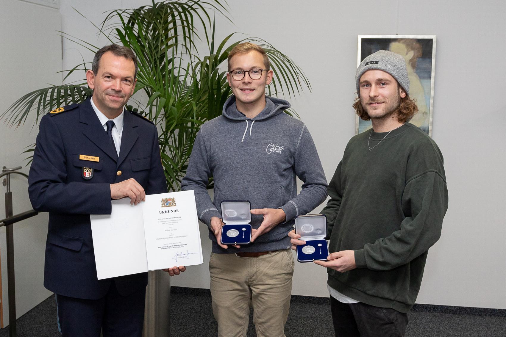 Courage-Medaille Augsburg Katthän