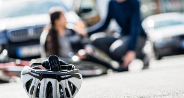 Fahrradhelm Helm Unfall Fahrrad