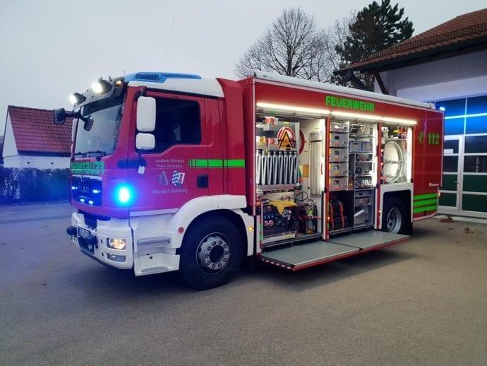 GWG Feuerwehr Günzburg Neu
