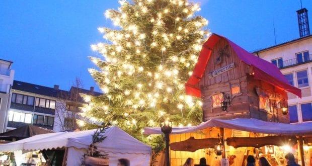 Mittelalterlicher Weihnachtsmarkt Neu-Ulm 2018