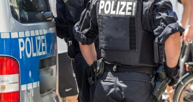Polizeieinsatz Poizeikräfte