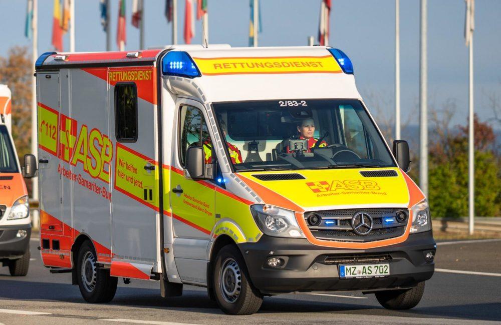 Rettungswgen ASB Mainz