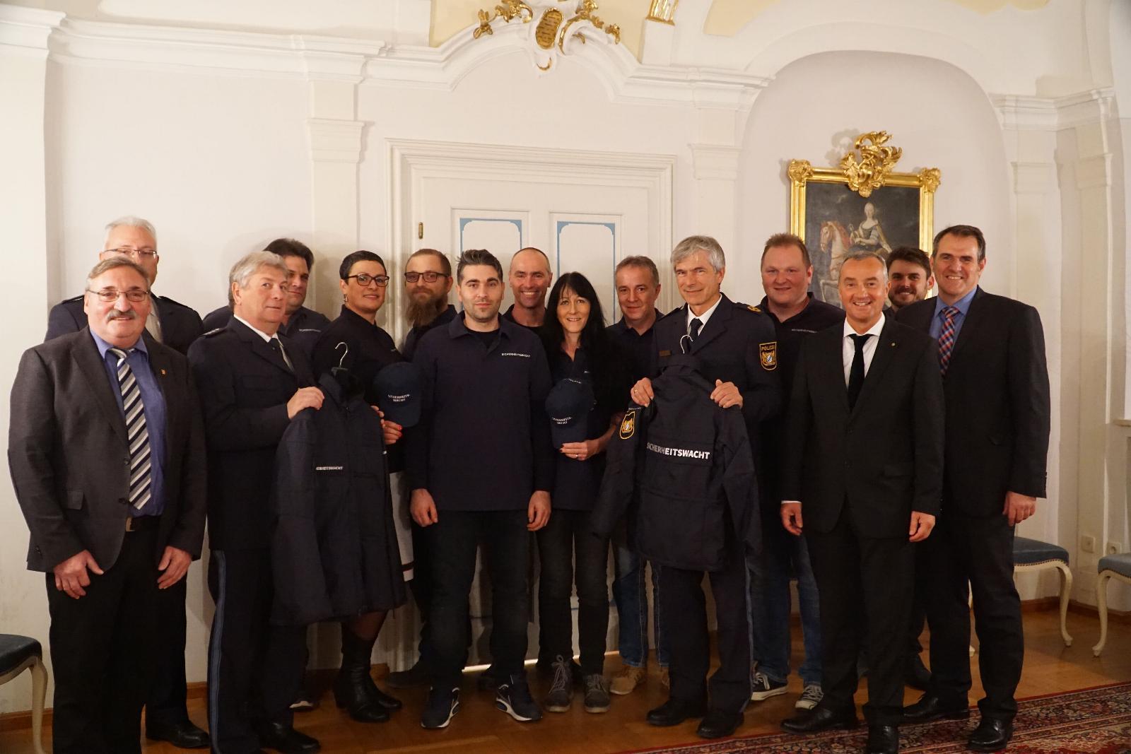Sicherheitswacht Günzburg 20 Jahre