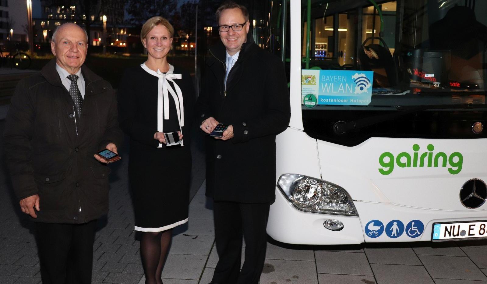 WLAN in Gairing-Linienbussen_Junginger, Schnarrenberger, Freudenberger