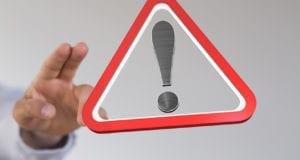Warnung Achtung Vorsicht