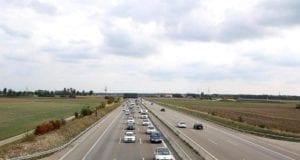 Autobahn Fahrspuren