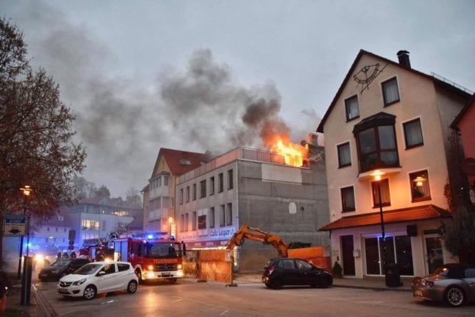 Brand Heidenheim Dachstuhl Wedelgraben 1