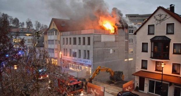 Brand Heidenheim Dachstuhl Wedelgraben 2