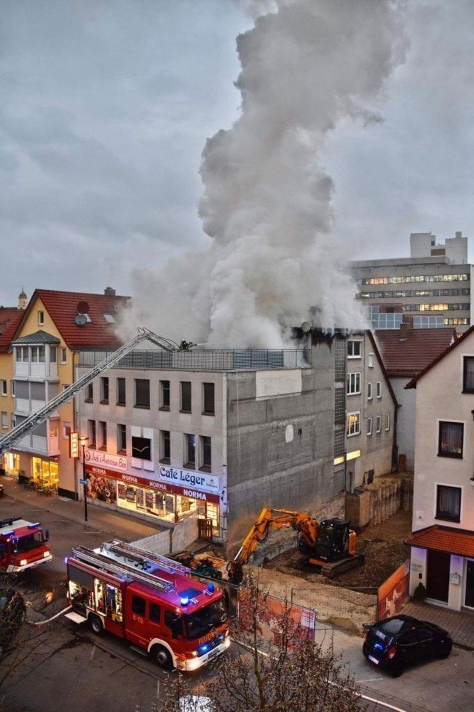 Brand Heidenheim Dachstuhl Wedelgraben 3