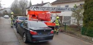 Drehleiterrettung Feuerwehr Günzburg 1
