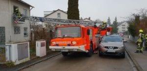 Drehleiterrettung Feuerwehr Günzburg