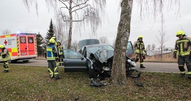 Günzburg Heidenheimer Strasse Unfall 30122018 5