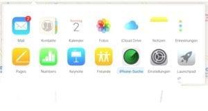 iPhone suchen