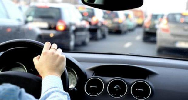 Autofahrer Lenkrad