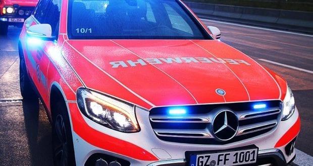 Feuerwehrfahrzeug Günzburg