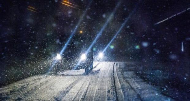 Schnee Auto Schneefall