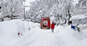 Schnee Schneechaos
