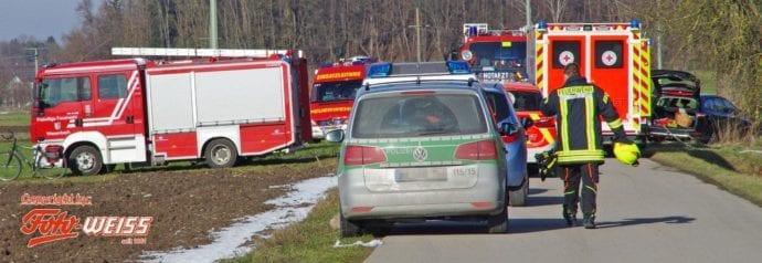 Unfall Wattenweiler-Ellzee 16012019 1