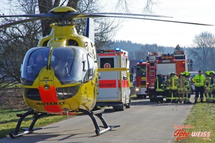 Unfall Wattenweiler-Ellzee 16012019 8