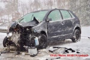 Ursberg B300 Unfall Schneeräumer 050012019 2
