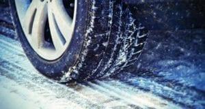 Winter Schnee Straßenglätte