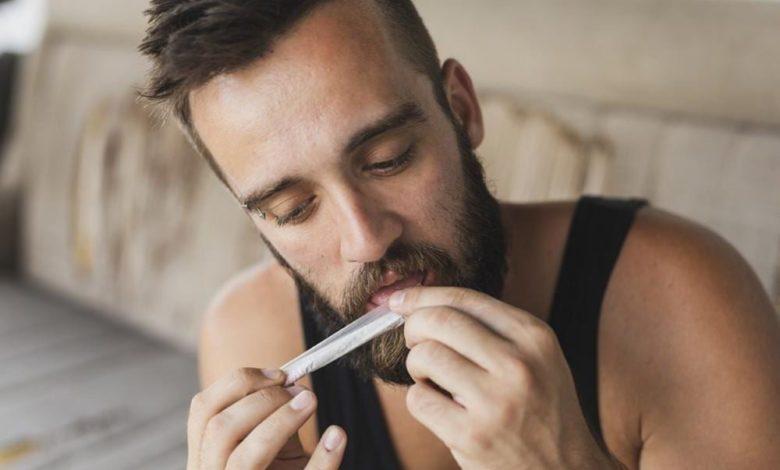 Cannabis rauchen Drogen