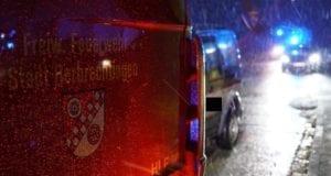 Feuerwehr Herbrechtingen Person eingeklemmt 1