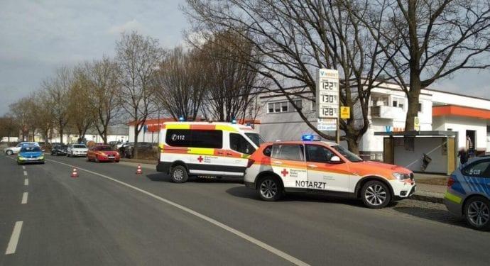 Ichenhausen Unfall Schulbus Pkw 20022019 13