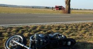 Motorrad Unfall B300 Kettershausen 2