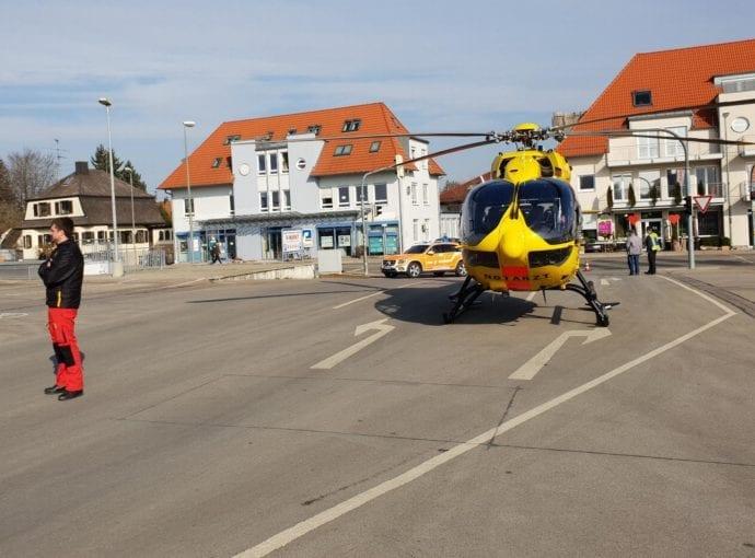 Rettungshubschrauber Christoph 22 Günzburg V-Markt 21022019 1
