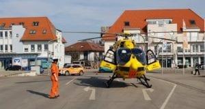 Rettungshubschrauber Christoph 22 Günzburg V-Markt 21022019 2