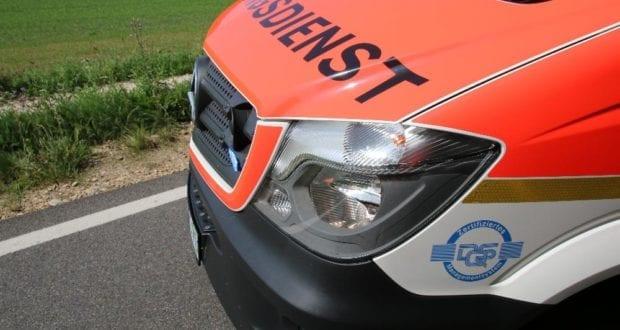 Rettungswagen Front
