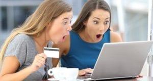 Schnäppchen Frauen Onlineeinkauf