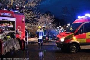 Wettenhausen Unfall Pkw 09022019 1