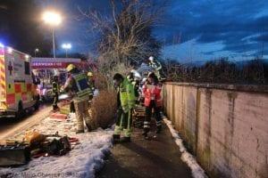Wettenhausen Unfall Pkw 09022019 15
