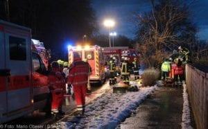 Wettenhausen Unfall Pkw 09022019 17