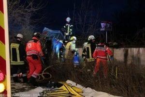 Wettenhausen Unfall Pkw 09022019 4