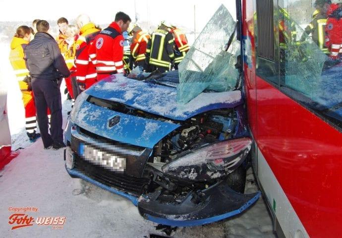 Zugunfall Krumbach Hirschfelden 04022019 3