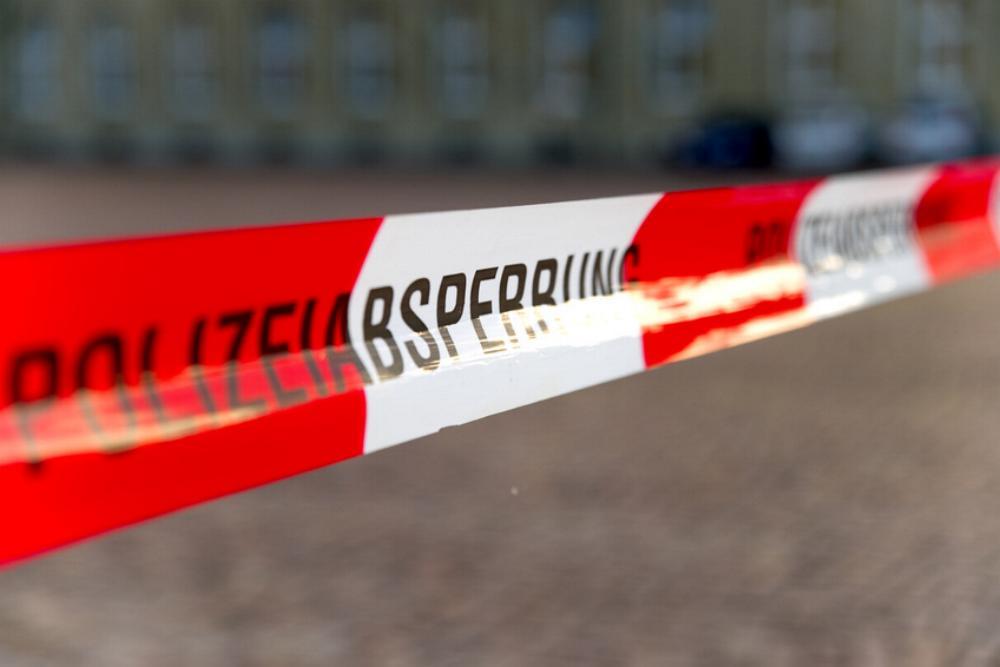 Absperrband Polizeiabsperrung Flatterband