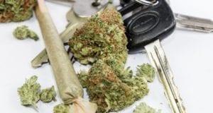 Drogen Autofahrer Autoschlüssel Marihuana