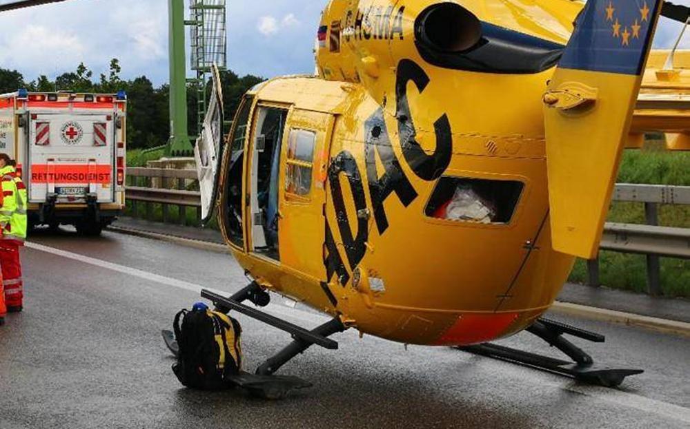 Feuerwehr Rettungshubschrauber Rettungswagen