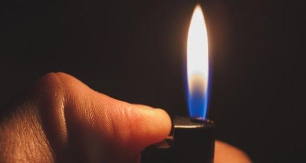 Feuerzeug Flamme