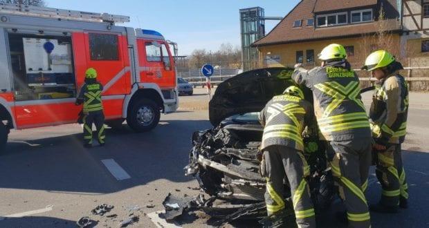 Günzburg Unfall Siemensstraße 20032019 2