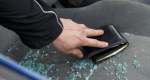 Geldbeutel Autoaufbruch