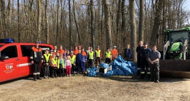 Jugendfeuerwehr Reisensburg Umwelteinsatz 2019