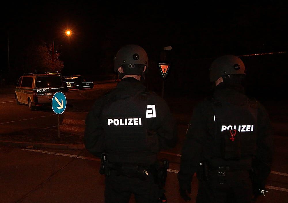 Polizeieinsatz Sonderkräfte