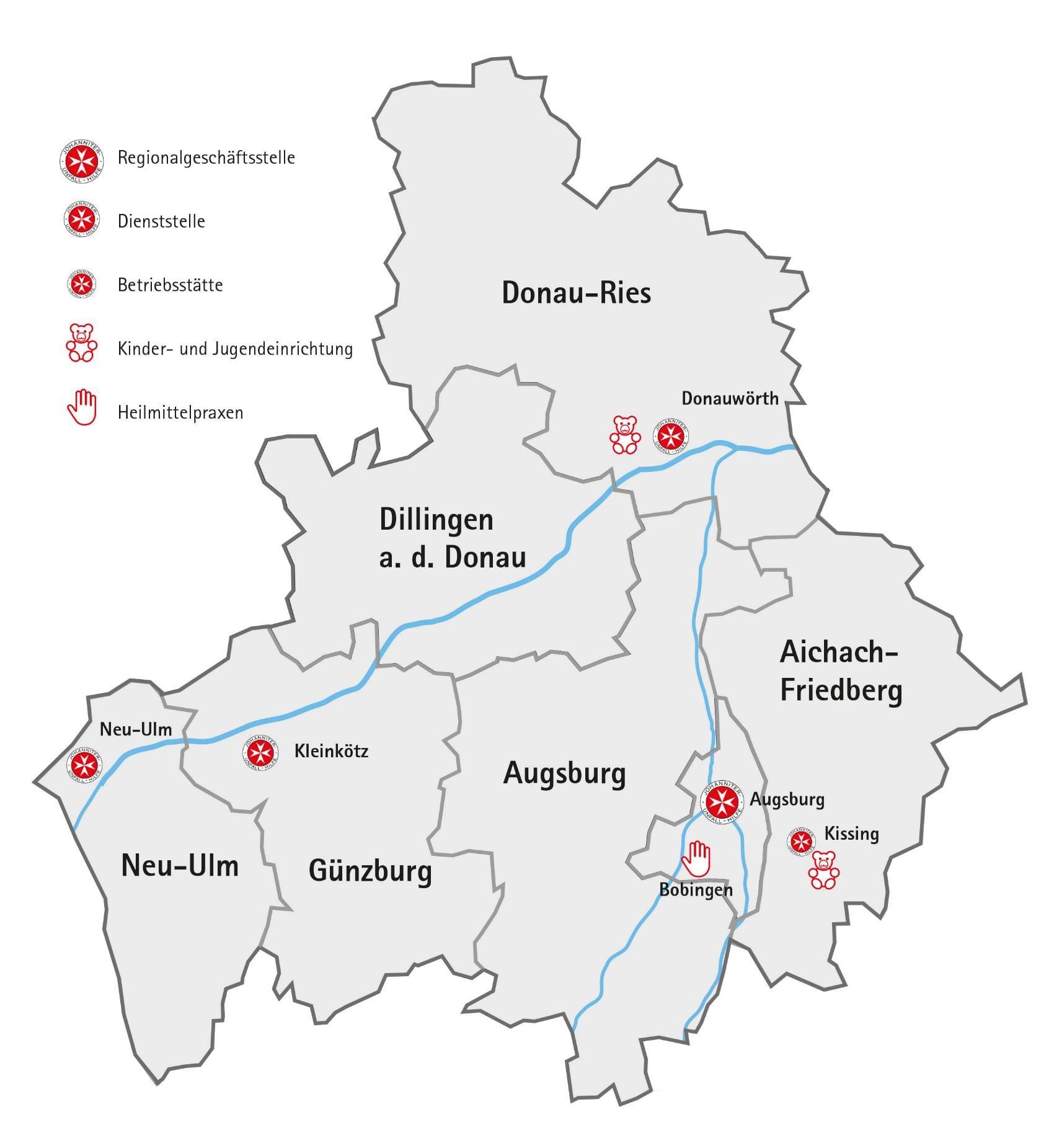 Schwaben | Swabia - Jüdische DP Lager und Gemeinden in