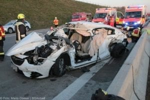 Unfall A8 Kreis GZ Burgau-Günzburg 21032019 16